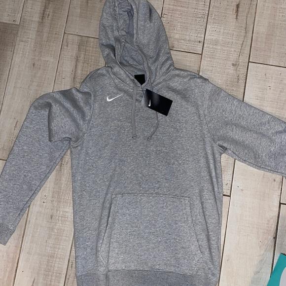 NIKE SMALL Gray HOODIE sweatshirt